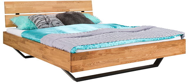 Łóżko dębowe VIGO Style Soolido Meble dębowe