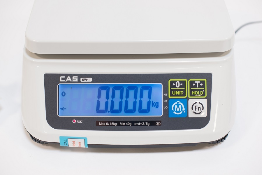 Waga licząca CAS SW-II CR15 RS 15kg