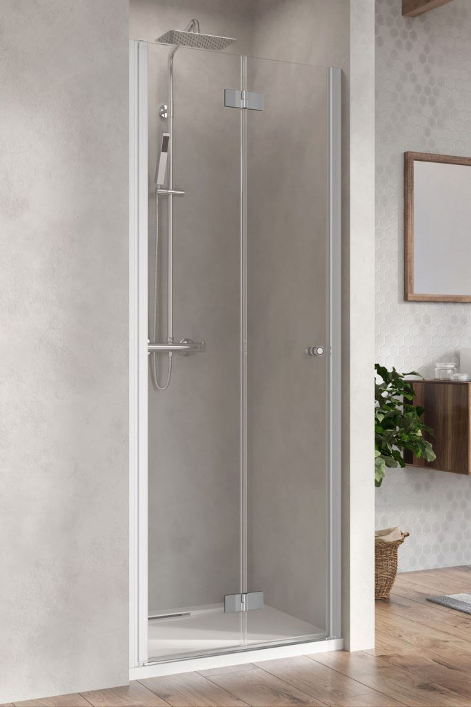 Drzwi prysznicowe 80 LEWE Nes 8 DWB Radaway (10079080-01-01L)