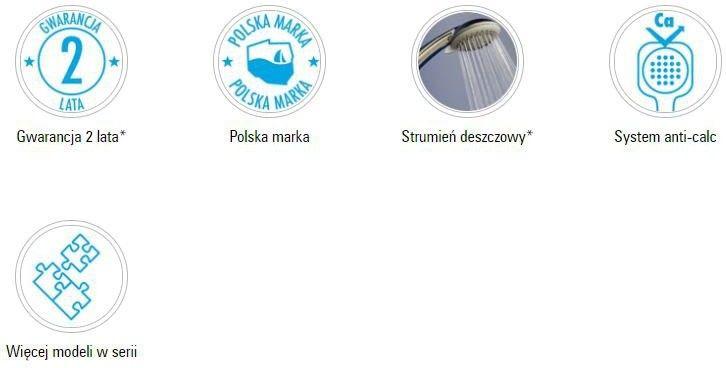 Deante Cascada Głowica natryskowa okrągła NAC 030K