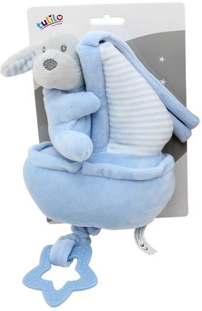 Pozytywka Piesek New Baby niebieski