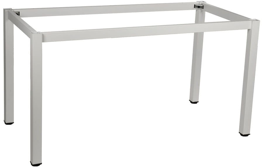 Stelaż ramowy stołu 156x76, noga kwadratowa