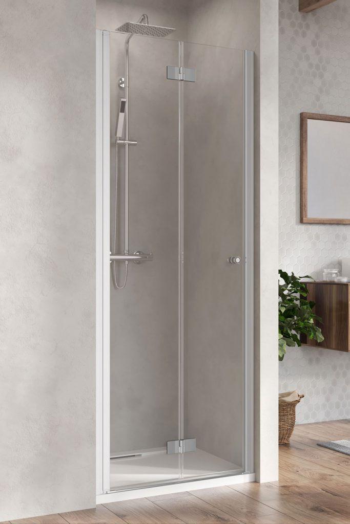 Drzwi prysznicowe 90 LEWE Nes 8 DWB Radaway (10079090-01-01L)