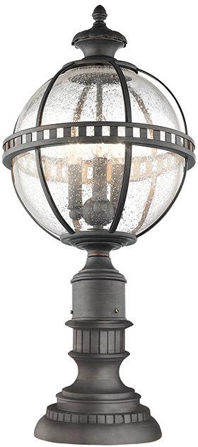 Lampa stojąca Halleron KL/HALLERON/3M Kichler zewnętrzna oprawa w dekoracyjnym stylu