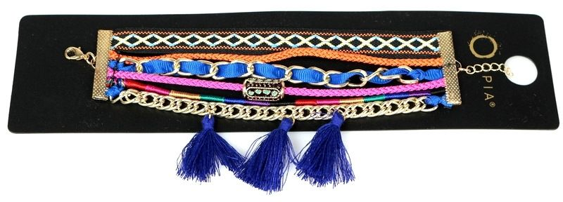 Szeroka bransoleta aztecka Leilah