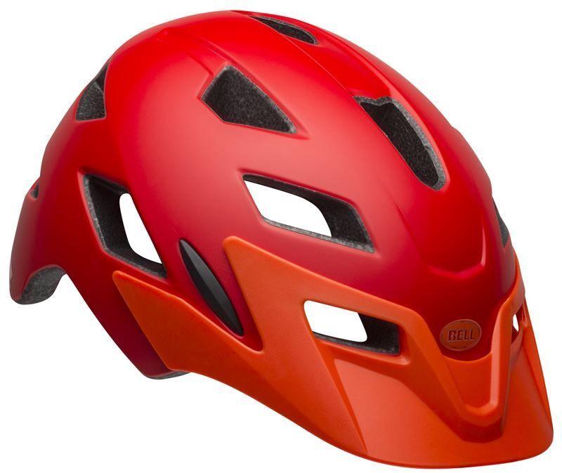BELL SIDETRACK kask dziecięcy matte red orange Rozmiar: 50-57,sidetrackmatteredorange