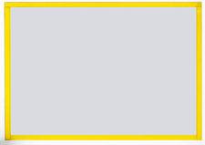 Koszulka magnetyczna A3 ramka żółty 5szt