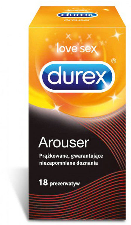 Durex Prezerwatywy Arouser 18 szt.