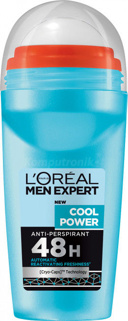 LOréal Paris Men Expert Cool Power antyperspirant roll-on 50 ml