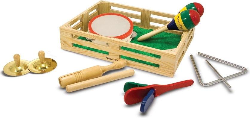 Zespół w pudełku - zestaw muzyczny dla dziecka