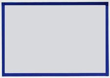 Koszulka magnetyczna A3 ramka niebieski 5szt