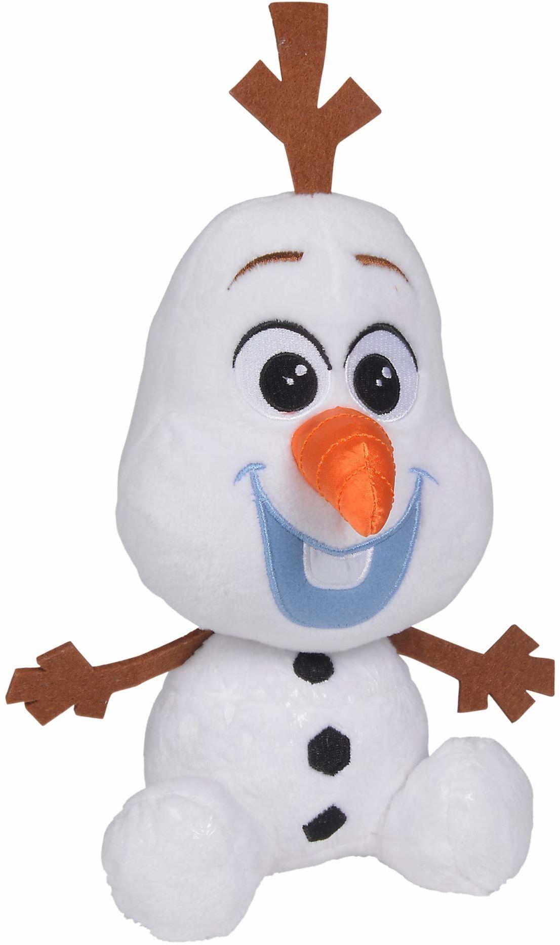 Simba 6315877556 Disney Frozen 2, Chunky Olaf, 25 cm, wielokolorowy