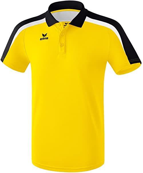 Erima Liga 2.0 dziecięca koszulka polo wielokolorowa Gelb/Schwarz/We 164