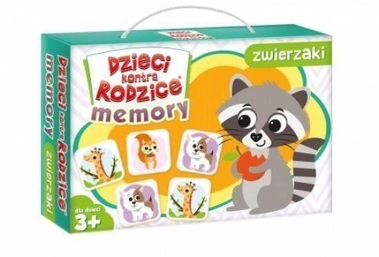 Dzieci kontra rodzice Memory zwierzaki - Praca zbiorowa