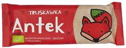 Baton bakaliowo-zbożowy z truskawką bio 37 g - helpa