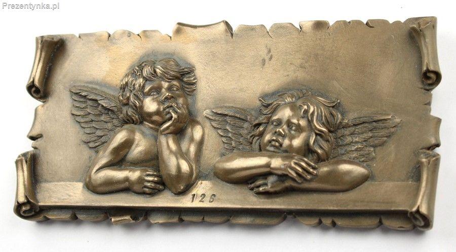 Aniołki Anioły Relief Cherubiny