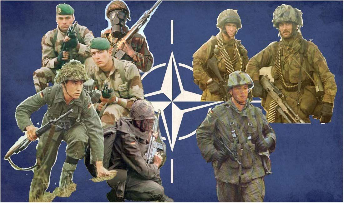 Italeri 510006191 1:72 Fig. NATO modelarstwo oddziałów, zestaw budowlany do budowy modeli stojących, majsterkowanie, majsterkowanie, klejenie, zestaw plastikowy, wierne szczegóły, nielakierowane