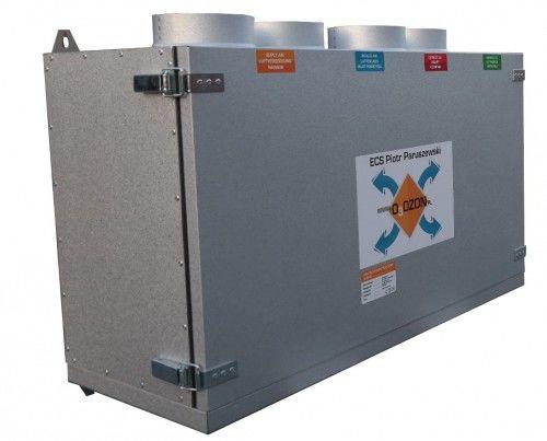 Centrala wentylacyjna CWP 360/160 jon16 Rekuperator + Jonizator + Sterownik, Przeciwprądowy