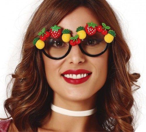Okulary z owocami