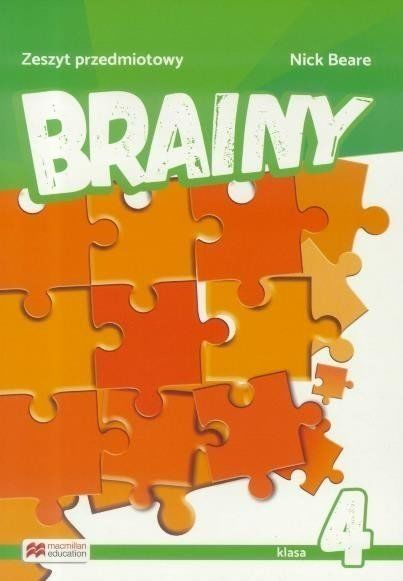 Brainy 4 Zeszyt do języka angielskiego MACMILLAN - Nick Beare