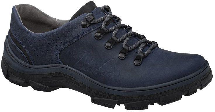 Półbuty buty trekkingowe KORNECKI 5329 Granatowe