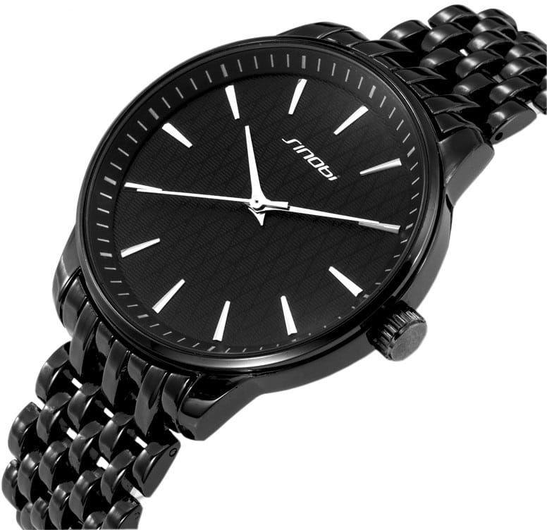 Czarny zegarek Sinobi