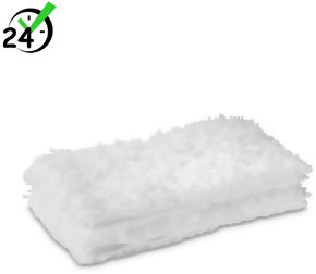 Ściereczki podłogowe z mikrofibry (2szt) do dyszy podłogowej Comfort Plus Karcher