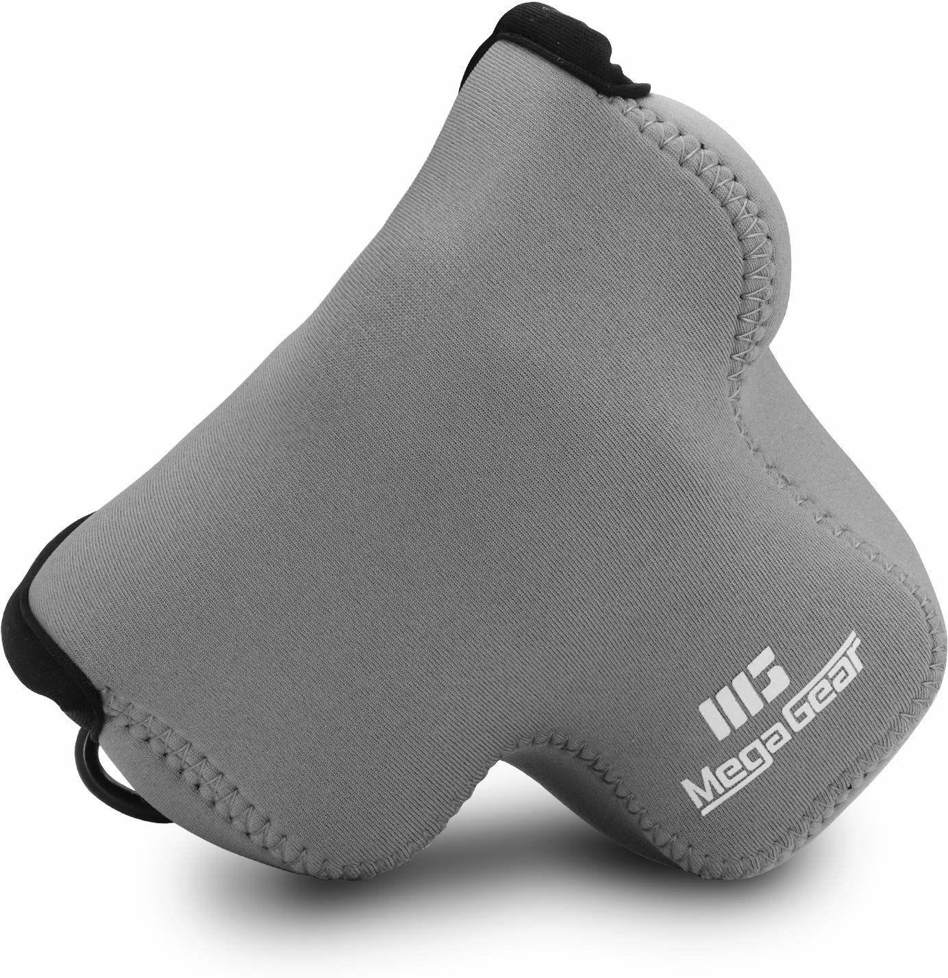 MegaGear MG1037 Canon EOS M50, M5 (15-45) ultralekka torba na aparat z neoprenu - szara