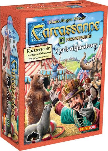 Carcassonne: Cyrk Objazdowy ZAKŁADKA DO KSIĄŻEK GRATIS DO KAŻDEGO ZAMÓWIENIA