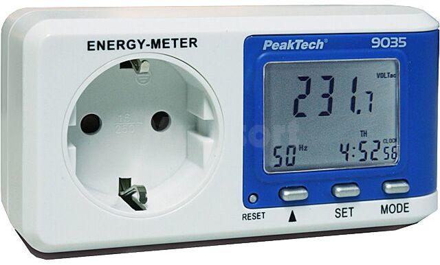 Miernik energii elektrycznej PEAKTECH P9035 220/276V 16A