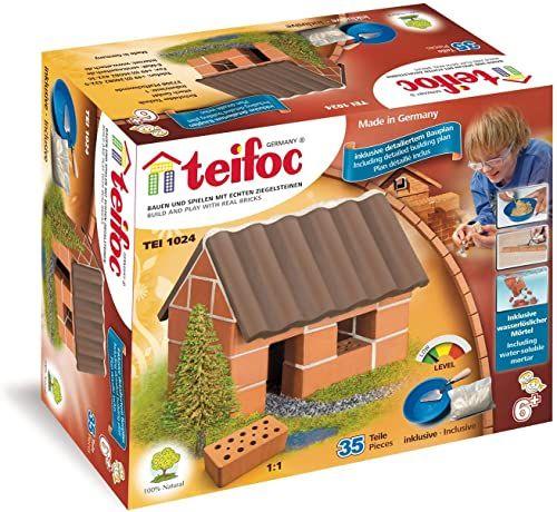 Teifoc T1024 TEI 1024-mały, wielokolorowy, mały dom jednorodzinny