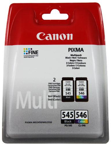 oryginalny multipak Canon [PG-545 + CL-546] 2-pak