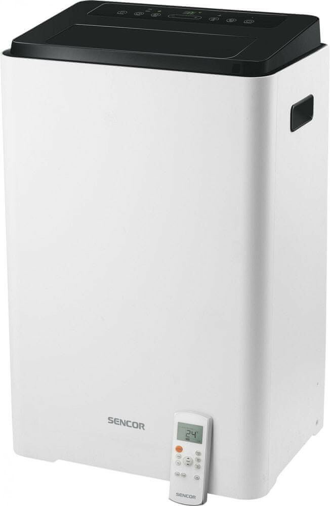 Klimatyzator przenośny SENCOR SAC MT1411C 3w1 z funkcją wentylatora i osuszacza powietrza