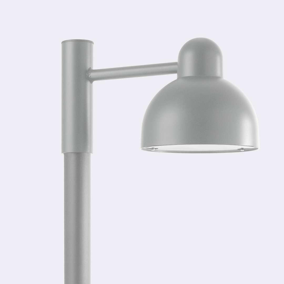 Lampa na słup KOSTER LED 1913AL -Norlys  SPRAWDŹ RABATY  5-10-15-20 % w koszyku