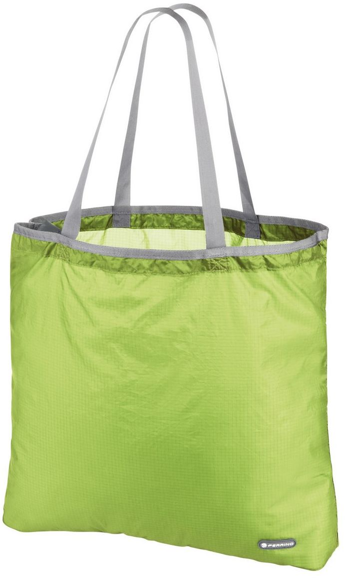 Ferrino Torba na zakupy, składana, 15 l, zielona
