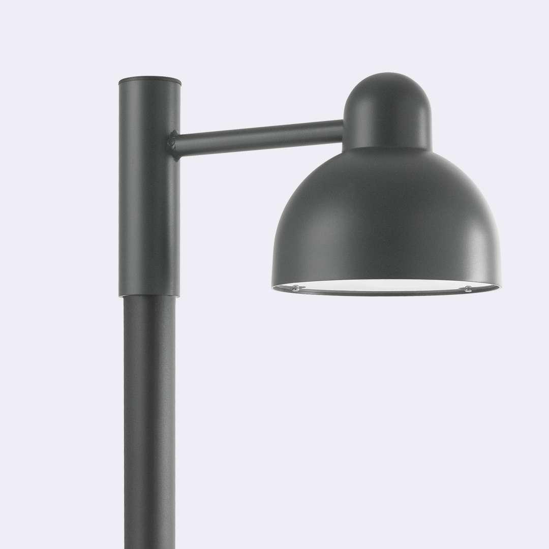 Lampa na słup KOSTER LED 1913GR -Norlys  SPRAWDŹ RABATY  5-10-15-20 % w koszyku