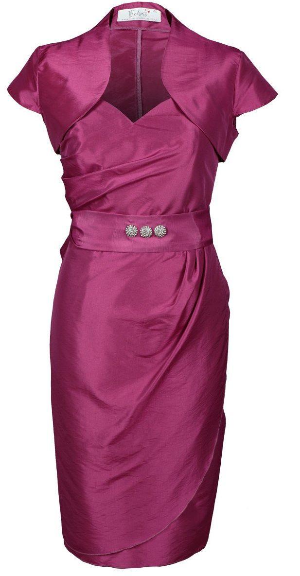 Sukienka FSU179 AMARANTOWY