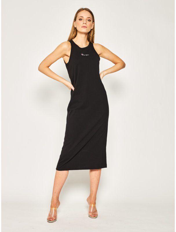 Sukienka codzienna 112742 Czarny Regular Fit