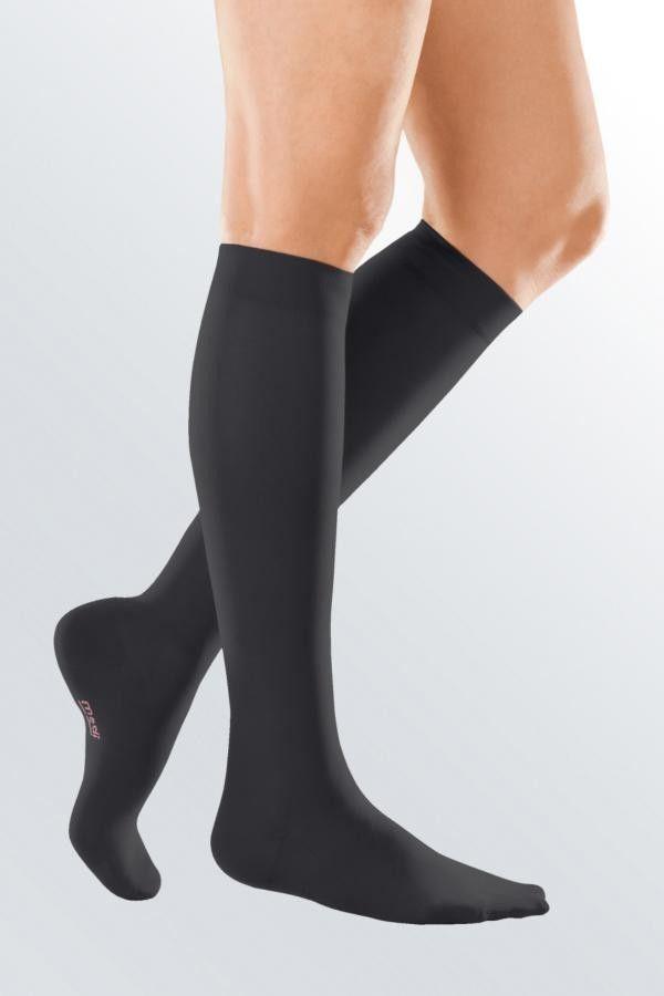 Podkolanówki przeciwżylakowe Medi Elegance ucisk 2 stopnia : długość - normalne, kolor - czarny, rozmiar - 3