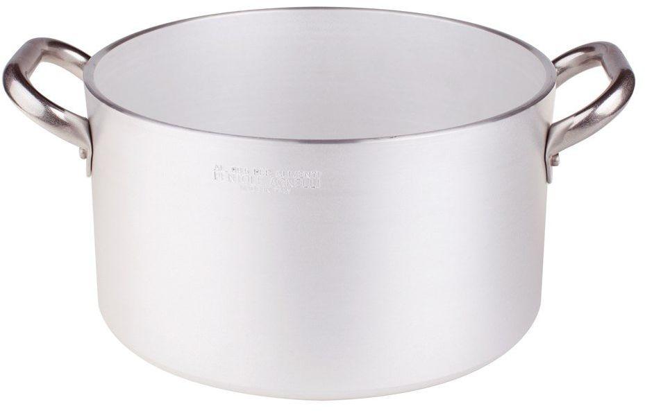 Pentole Agnelli ALMR110416 cylindryczna zawleczka o wysokim połysku, profesjonalna aluminiowa 5 mm, 16 cm