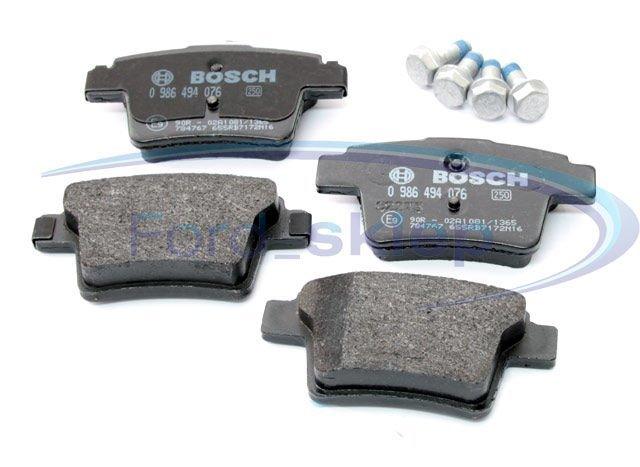 klocki hamulcowe Bosch - tył 08/2004