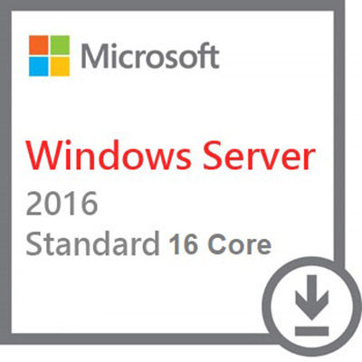 Microsoft Windows Server 2016 Standard 64bit 16 Core PL