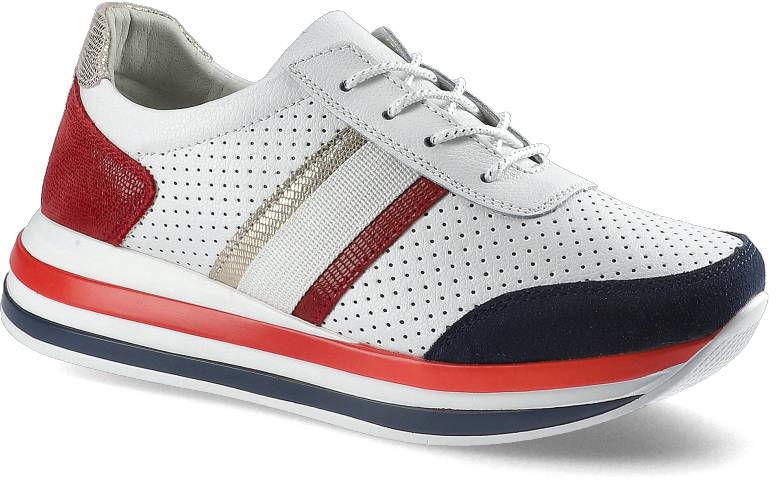 Sneakersy ARTIKER 48C1389 Biało-Czerwony