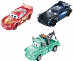 Disney Pixar Cars zmieniacze kolorów Lightning McQueen, Mater & Jackson Storm 3-pak