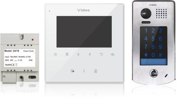 Wideodomofon vidos duo m1022w / s1301d - możliwość montażu - zadzwoń: 34 333 57 04 - 37 sklepów w całej polsce