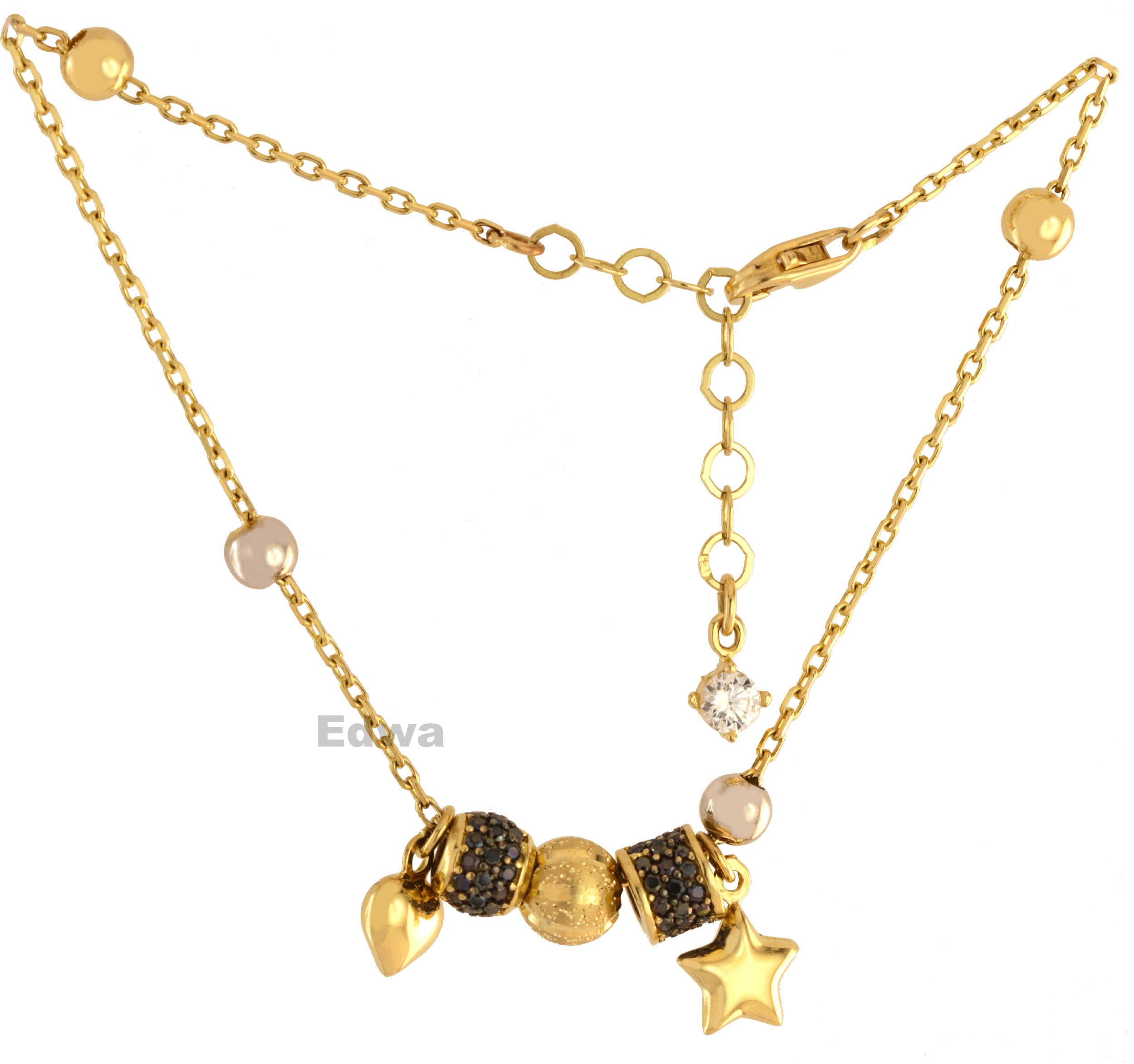 Bransoletka złota wzór Pandora pr.585