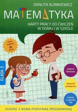 Matematyka. karty pracy klasa 2 (wyd. 2016) ZAKŁADKA DO KSIĄŻEK GRATIS DO KAŻDEGO ZAMÓWIENIA