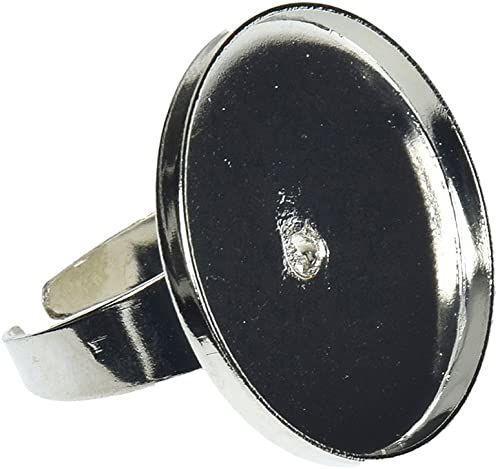 EFCO Pierścień do mosaix okrągły 25 mm srebrny kolor