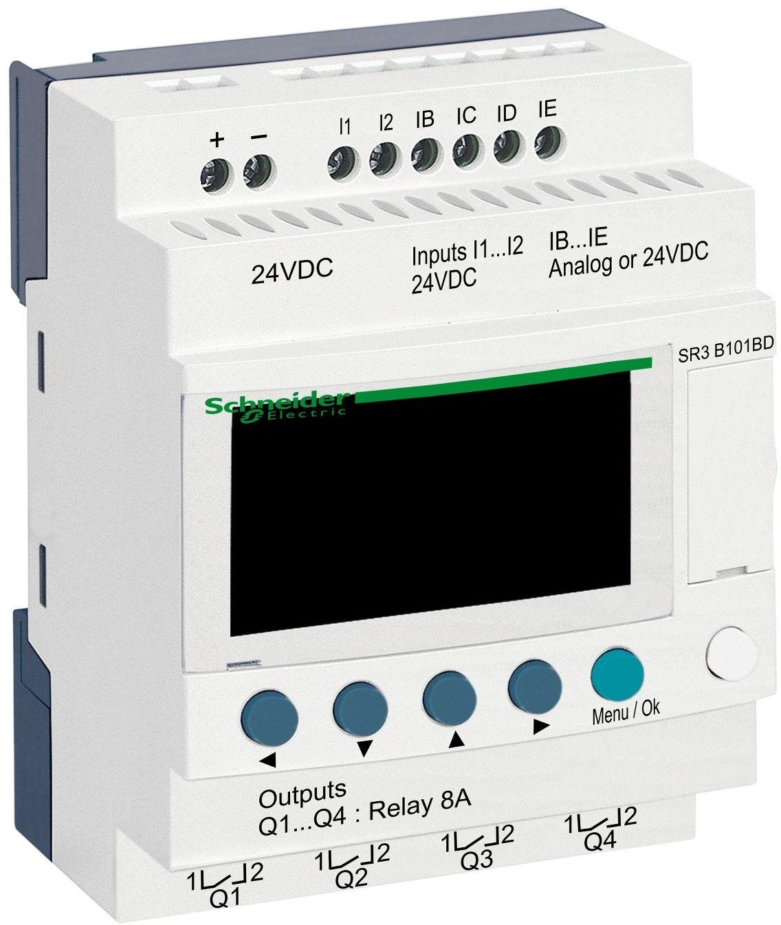 SR3B101BD Przekaźnik programowalny Zelio Logic