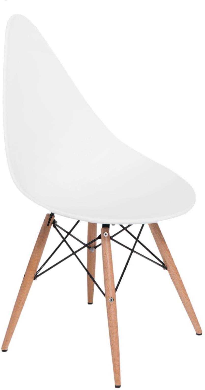 D2 Krzesło Rush DSW białe